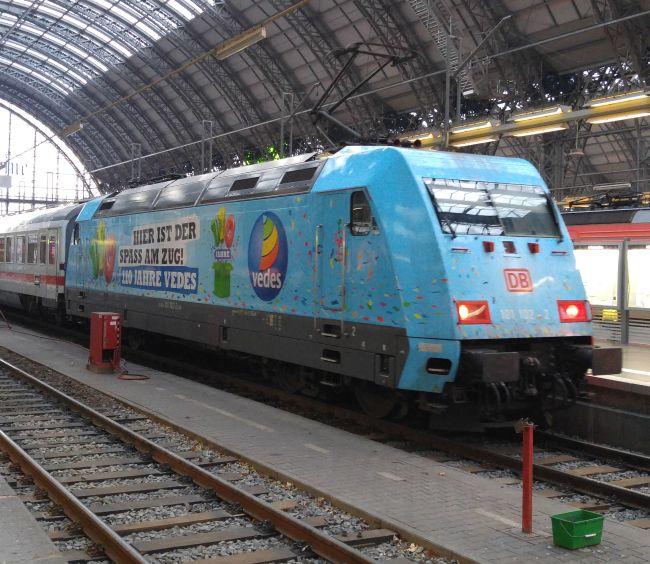 Lok 101 102 in 2015 in Frankfurt/Main Hbf