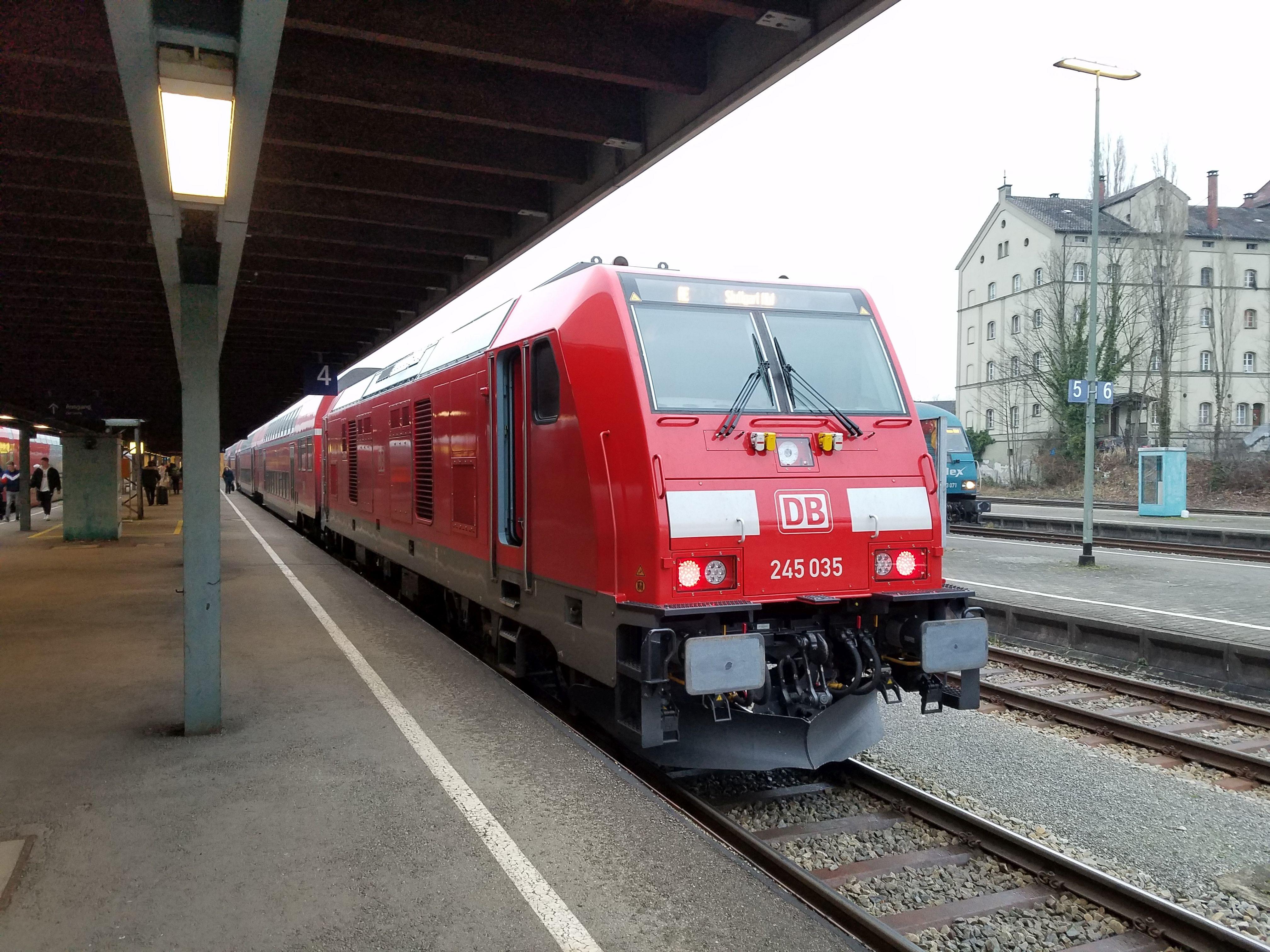 Lok 245 035, Lindau, 2018