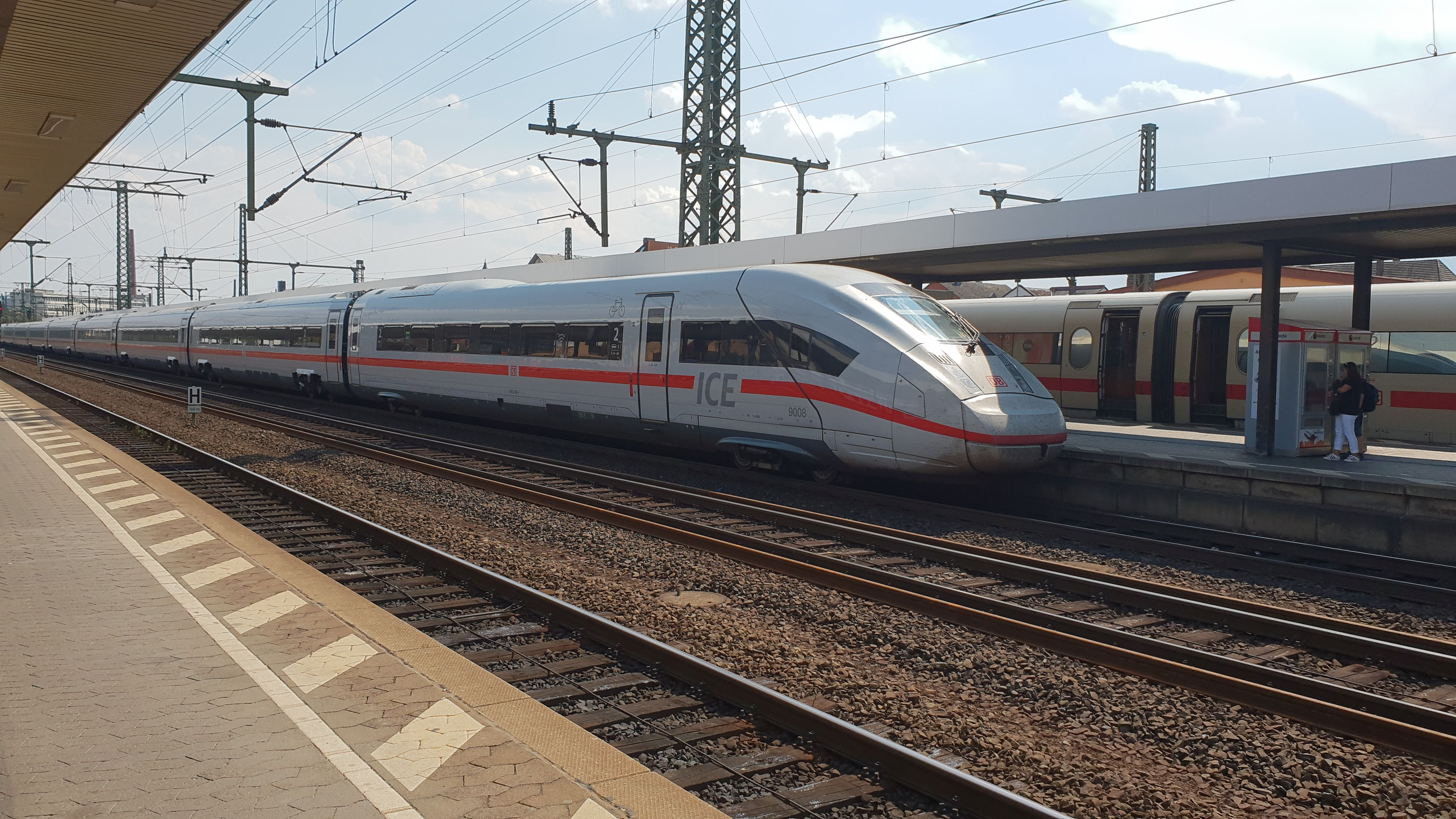 Foto: ICE4 BR 412 Zug 9008 in Fulda, 2018