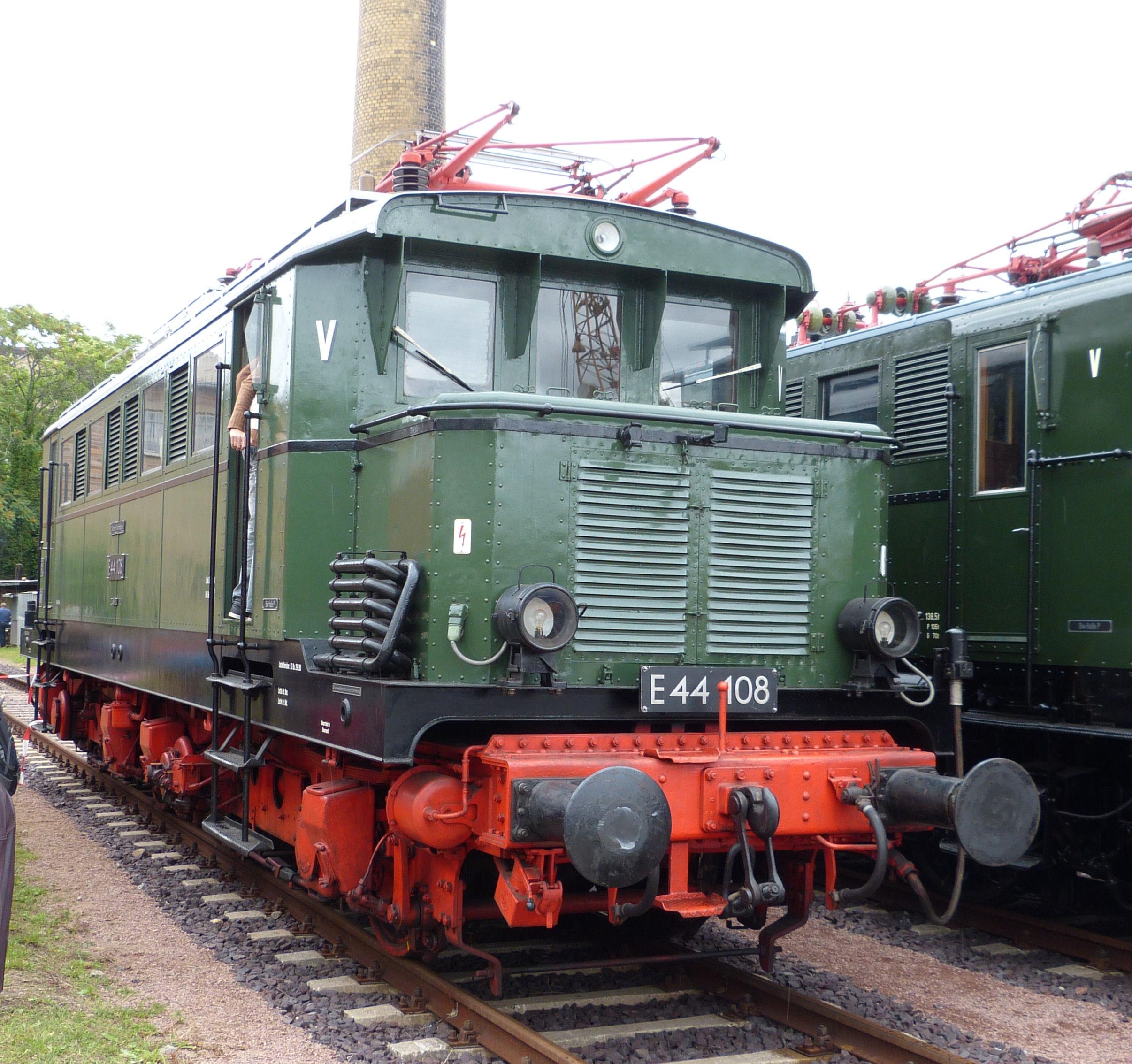 E44 108 Halle (Saale), 2012