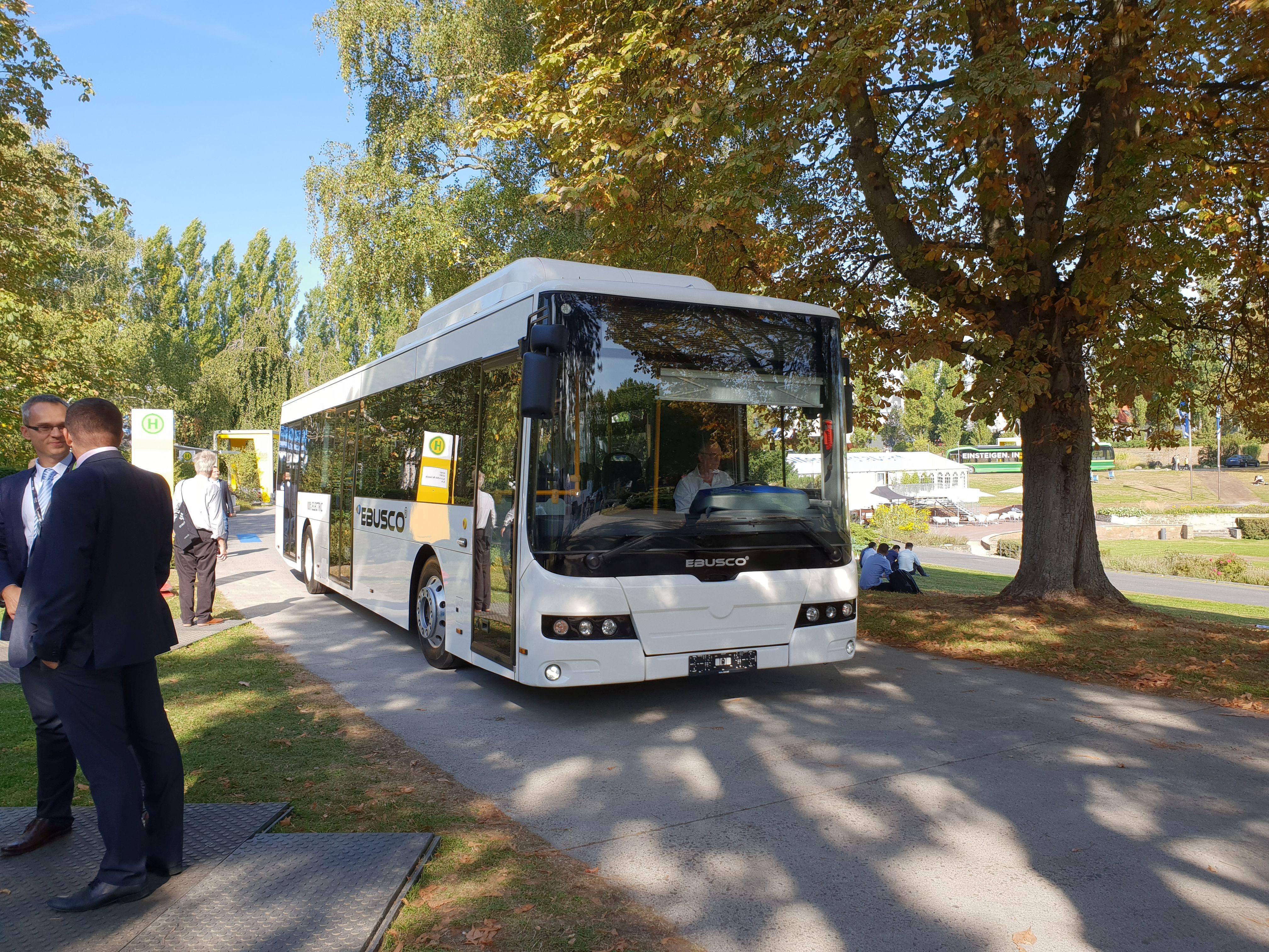Foto: Elektrobus von Ebusco auf der Berliner Innotrans 2018